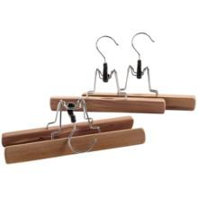 Household Essentials Cedarfresh Cedar Clamp - Skirts or Pants, 3-Pack in Cedar - Overstock