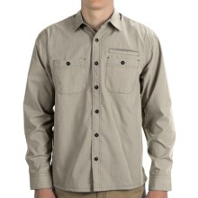 Howler Brothers Aransas Shirt - Long Sleeve (For Men) in Sandstorm Microcheck - Closeouts