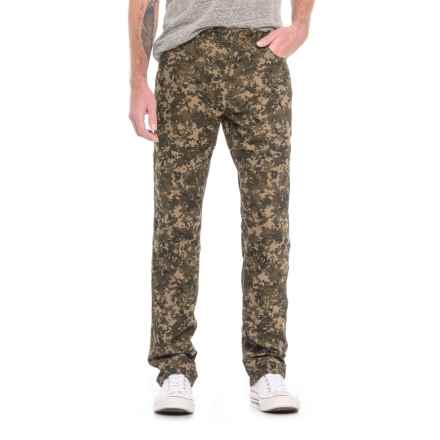 Howler Brothers Band of Bros Pants - 5-Pocket (For Men) in Camo - Closeouts