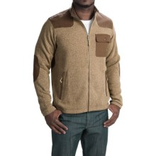 Howler Brothers Dispatch Fleece Sweatshirt - Full Zip (For Men) in Desert Tan - Closeouts
