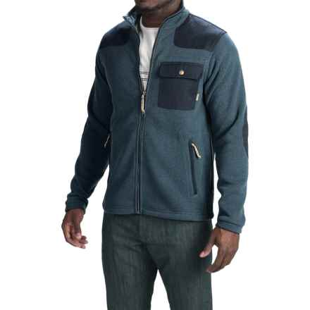 Howler Brothers Dispatch Fleece Sweatshirt - Full Zip (For Men) in Explorer Blue - Closeouts
