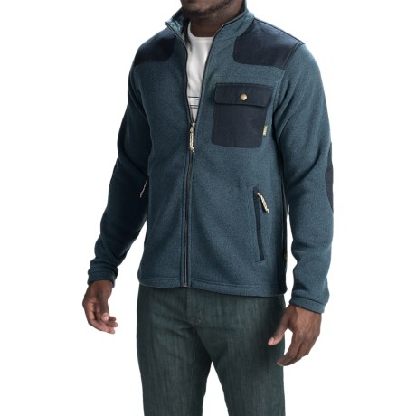 Howler Brothers Dispatch Fleece Sweatshirt Full Zip For Men