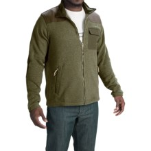 Howler Brothers Dispatch Fleece Sweatshirt - Full Zip (For Men) in Moss Green - Closeouts