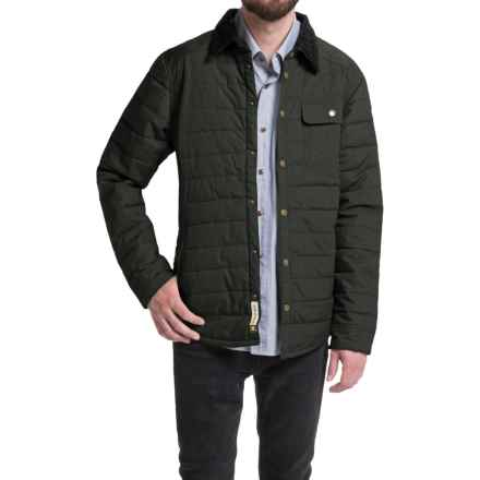 Howler Brothers Esmont Quilted Jacket - Insulated (For Men) in Shadow Grey - Closeouts