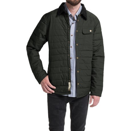 Howler Brothers Esmont Quilted Jacket - Insulated (For Men) in Shadow Grey
