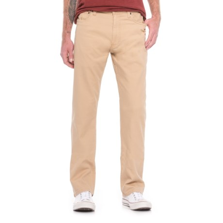 Howler Brothers Five-Pocket Pants (For Men) in Dusty Khaki