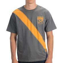Howler Brothers Graphic T-Shirt - Short Sleeve (For Men) in Brother Badge/Grey - Closeouts