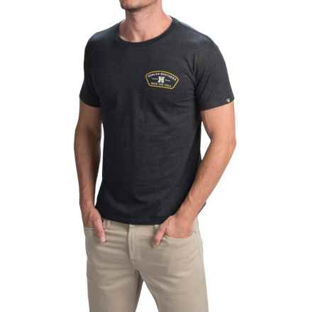 Howler Brothers Graphic T-Shirt - Short Sleeve (For Men) in Feed Store/Slate Grey - Closeouts
