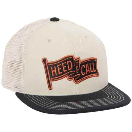 Howler Brothers Heed the Call Flag Hat (For Men) in Stone/Black - Closeouts