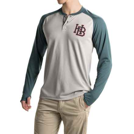 Howler Brothers Loggerhead Shirt - UPF 45, Long Sleeve (For Men) in Grand Slam/Navy/Grey - Closeouts
