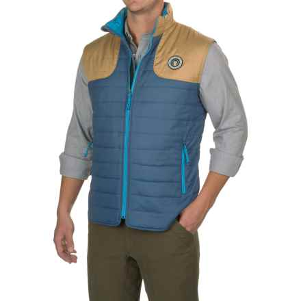 Howler Brothers Merlin PrimaLoft® Vest - Insulated (For Men) in Shipyard/Beachfront - Closeouts
