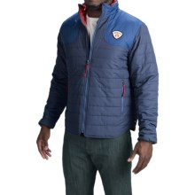 Howler Brothers Merlin Quilted Jacket - Insulated (For Men) in Evening Blue/Nightshade - Closeouts