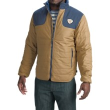 Howler Brothers Merlin Quilted Jacket - Insulated (For Men) in Sand Dune/Midnight - Closeouts