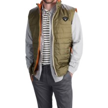 Howler Brothers Merlin Quilted Vest - Insulated (For Men) in Mirage Grey - Closeouts