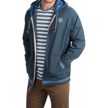 Howler Brothers Peacemaker Hoodie - Full Zip (For Men) in Thunder Blue - Closeouts