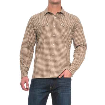 Howler Brothers Pescador Shirt - Long Sleeve (For Men) in Yodeler Plaid Backcountry - Closeouts
