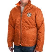 Howler Brothers Quepos Quilted Jacket (For Men) in Orange - Closeouts