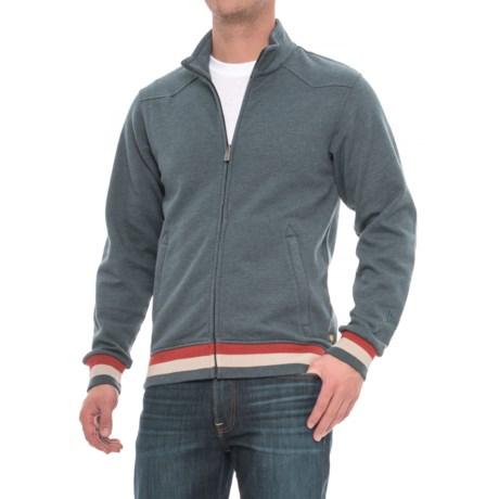 Howler Brothers Quick Draw Zip-Up Jacket (For Men) in Nova Blue