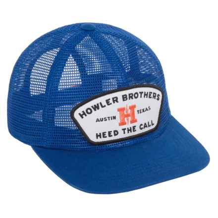 Howler Brothers Snapback Cap (For Men) in Feed Store/Royal Blue - Closeouts
