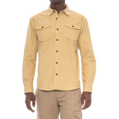 Howler Brothers Stockman Flannel Shirt - Long Sleeve (For Men) in Yellabelly