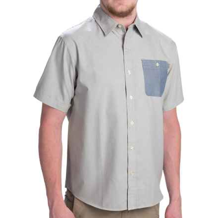 Howler Brothers Technician Shirt - Button Up, Short Sleeve (For Men) in Green - Closeouts