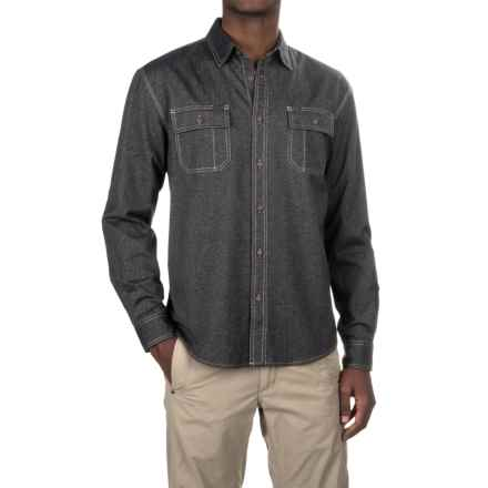 Howler Brothers Workman's Shirt - Long Sleeve (For Men) in Pavement - Closeouts