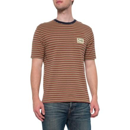 9379e031e6cf Howler Brothers Zuma Jacquard T-Shirt - Short Sleeve (For Men) in Burner