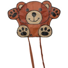 HQ Kites Animal Sled Kite - Single Line in Teddy - Closeouts