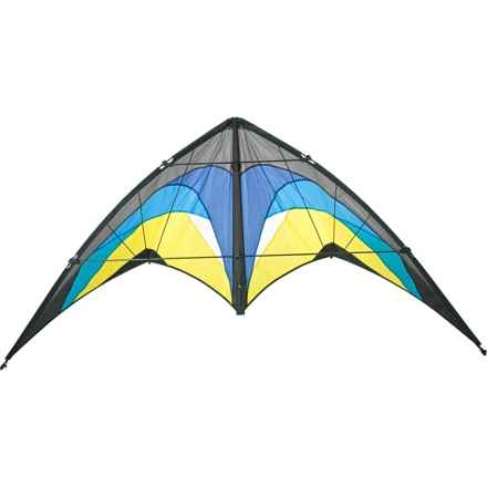 "HQ Kites Bolero 2 Stunt Kite - 64x33"" in Arctic - Closeouts"