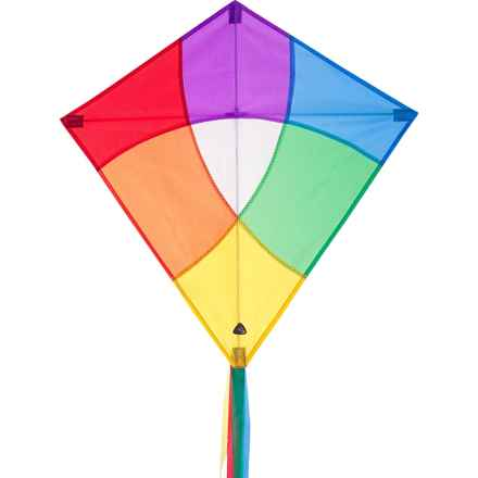 HQ Kites Eddy Traditional Diamond Kite in Paintbox - Closeouts