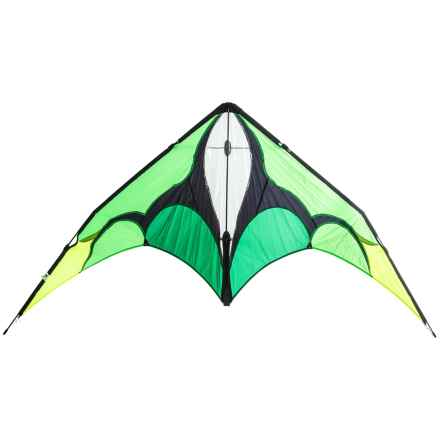 HQ Kites Jive II Stunt Kite - Dual Line in Emerald - Closeouts