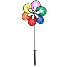 HQ Kites Paradise Flower Wind Spinner in Multicolor - Closeouts