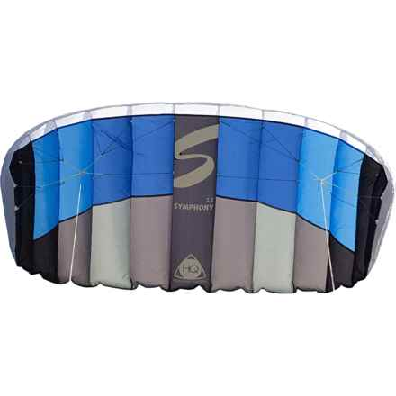 HQ Kites Symphony 2.2 Dual Line Stunt Kite in Aqua - Closeouts