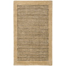 HRI Coffee Collection Area Rug - 5x8' in Beige - Overstock