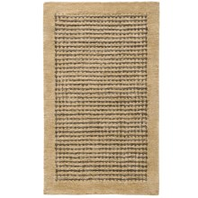 HRI Coffee Collection Area Rug - 8x11', Wool in Beige - Overstock