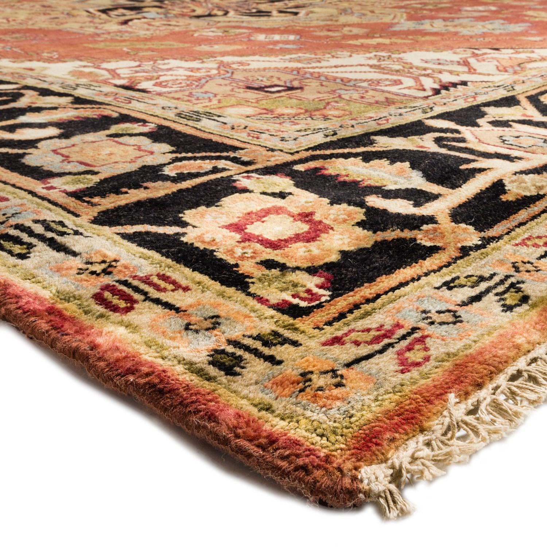 Hri Serapi Hand Knotted Wool Pile Area Rug 9x12