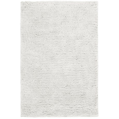 HRI Ultrasoft Shag Area Rug - 5x8' in Ivory