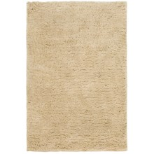 Hri Ultrasoft Shag Area Rug - 7-1/2x9-1/2' in Beige - Closeouts