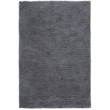 Hri Ultrasoft Shag Area Rug - 7-1/2x9-1/2' in Grey - Closeouts