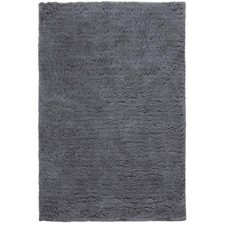 Hri Ultrasoft Shag Area Rug - 7-1/2x9-1/2' in Grey