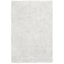 Hri Ultrasoft Shag Area Rug - 7-1/2x9-1/2' in Ivory - Closeouts
