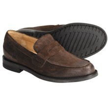 H.S. Trask Gibson Falls Loafer Shoes - Leather (For Men) in Dark Brown Suede - Closeouts