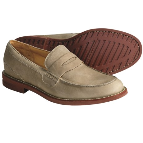 H.S. Trask Gibson Falls Loafer Shoes - Leather (For Men) in Taupe
