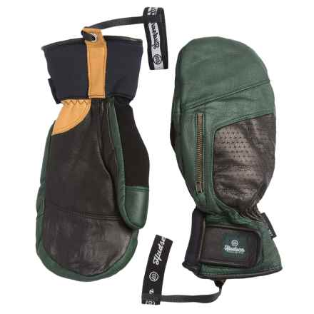 Hudsen by Swany Calvin Mittens - Waterproof, Insulated (For Men) in Forest Green - Closeouts