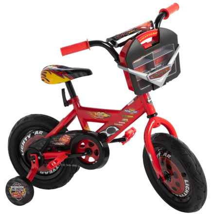 """Huffy Cars 3 Sidewalk Bicycle - 12"""" in See Photo - Closeouts"""