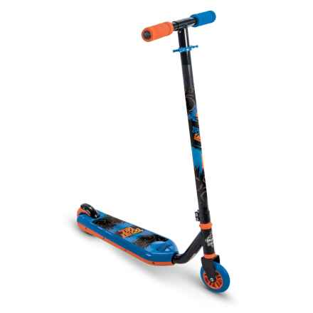 Huffy Double Take Flip Inline Scooter - Blue and Orange in See Photo - Closeouts