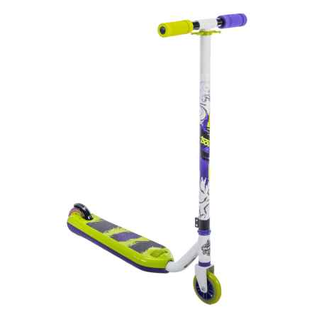 Huffy Double Take Flip Inline Scooter - Lime Green and White in See Photo - Closeouts