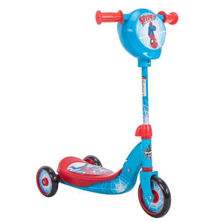 Huffy Spiderman 3-Wheel Scooter in See Photo - Closeouts