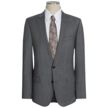Hugo Boss Mini-Check Wool Suit (For Men) in Grey - Closeouts