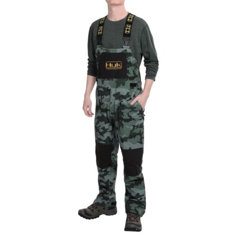 Huk All Weather Bib Overalls Waterproof (For Men)